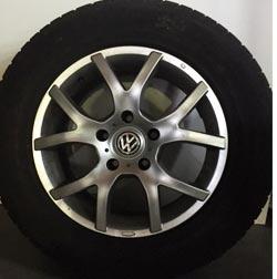 Velgen Volkswagen Touareg winterset 17inch